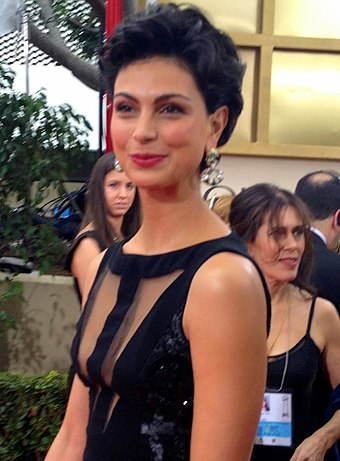 Baccarin at the 69th Golden Globe Awards on January 15, 2012 Morena Baccarin 2012.jpg