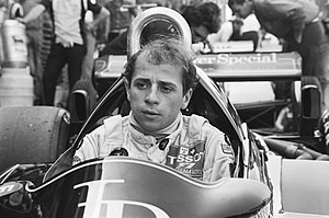 Roberto Moreno - Moreno at the 1982 Dutch Grand Prix.