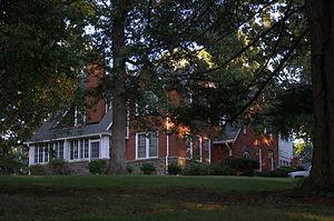 John Alfred Moretz House - Moretz House, September 2012