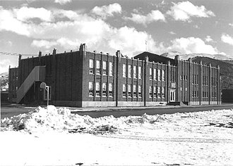 National Register of Historic Places listings in Morgan County, Utah - Image: Morgan Elementary School 1985 Morgan Utah