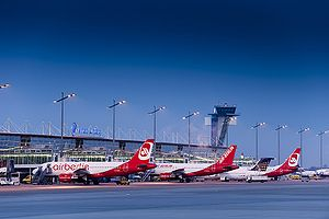 Nuremberg Airport - Apron overview