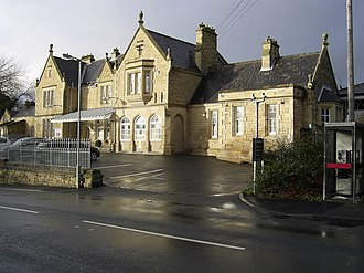 Morpeth railway station - Morpeth in 2007