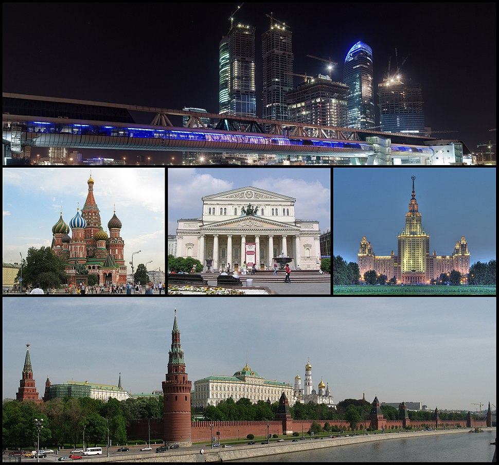 Moscow collage
