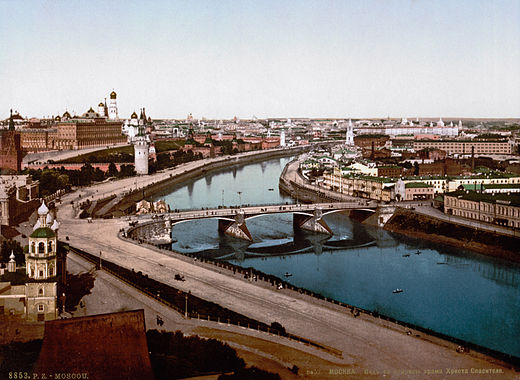 Moskva riverside in the 19th century Moskva riverfront.jpg