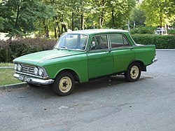 Moskvich green front side.jpg