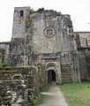 Mosteiro de San Lourenzo de Carboeiro - Monasterio de San Lorenzo de Carboeiro - Monastery of Carboeiro - Exterior - 06 - Entrada actual.jpg