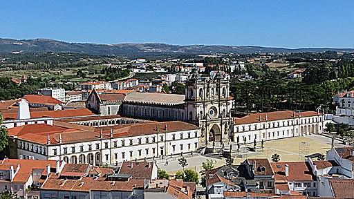 Kloster Alcobaça (UNESCO-Weltkulturerbe in Portugal). Mosteiro de Santa Maria de Alcobaça
