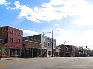 Mount Pleasant, Tennessee - Main Street