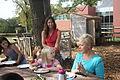 Mrs Evelin Ilves visits school garden at Stoddert Elementary (8033374629).jpg