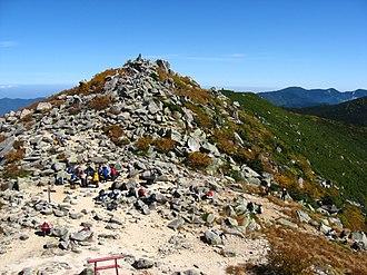 Mount Kinpu - Image: Mt.Kinpu top