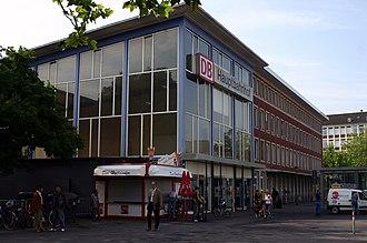 Wanne-Eickel–Hamburg railway - Münster (Westf) Hbf