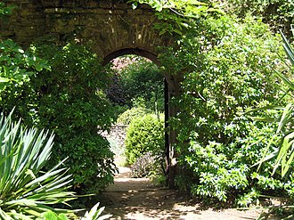 Munstead Wood - Archway to summer garden, 2009