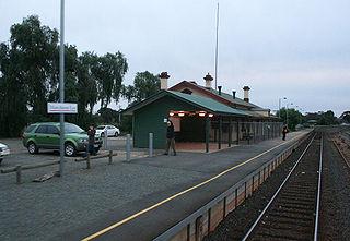 Murchison East railway station railway station in Murchison, Victoria, Australia