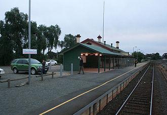 Murchison, Victoria - Muchison East station
