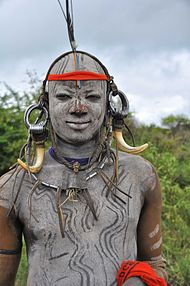Check Out The Mursi People In Africa (photos) - Travel - Nigeria
