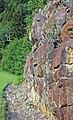 Muscovite schist (Precambrian; Blue Ridge, North Carolina, USA) 2.jpg