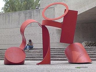 Rufino Tamayo - Entrance to museum Rufino Tamayo in Mexico.