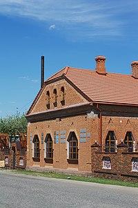 Museum of Krychevsky, Opishnja, facade.jpg