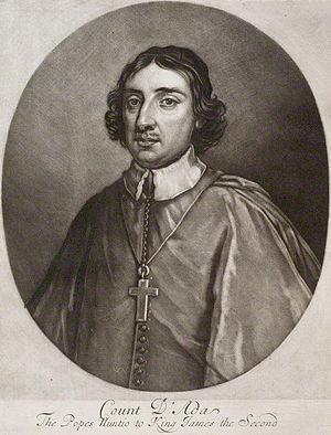 Ferdinando d'Adda - Ferdinando d'Adda, in a mezzotint by Isaac Beckett (National Portrait Gallery)