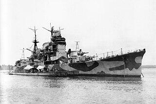 Japanese cruiser <i>Myōkō</i>