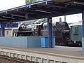 Nádraží Praha-Libeň, parní lokomotiva.jpg
