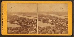 N.E. Nashville, showing Cumberland River and Edgefield, Tenn, by Giers, Carl, 1828-1877.jpg