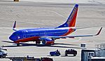 "N742SW Southwest Airlines 1998 Boeing 737-7H4 (cn 29278-172) ""Nolan Ryan Express"" (6892517799).jpg"
