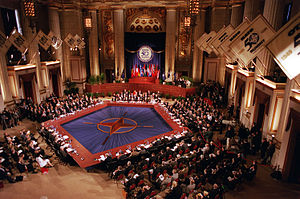Enlargement of NATO - Image: NATO Summit in Washington 1999