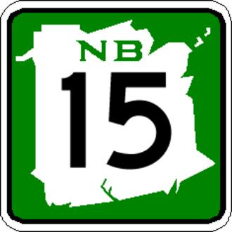 New Brunswick Route 11 - Image: NB 15