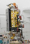 NOAA-N' satellite in Vandenberg AFB clean room.jpg
