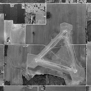 Naval Outlying Field Summerdale - USGS aerial image - 17 February 1997