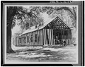 NORTHEAST CORNER, DURING RESTORATION - Church of the Holy Family, State Route 157, Cahokia, St. Clair County, IL HABS ILL,82-CAHO,1-7.tif