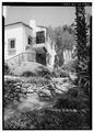 NORTHEAST SIDE, FROM EAST - Stoltzfus-Humphries House, 6855 La Valle Plateada, Rancho Santa Fe, San Diego County, CA HABS CAL,37-RANSF,14-1.tif