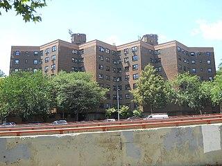 Baruch Houses Public housing development in Manhattan