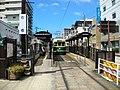 Nagasaki Electric Tramway Ishibashi Station.JPG