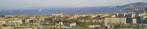 Nakhodka Bay - Panorama of Nakhodka Bay as seen from Dzerzhinsky Hill. May 2006