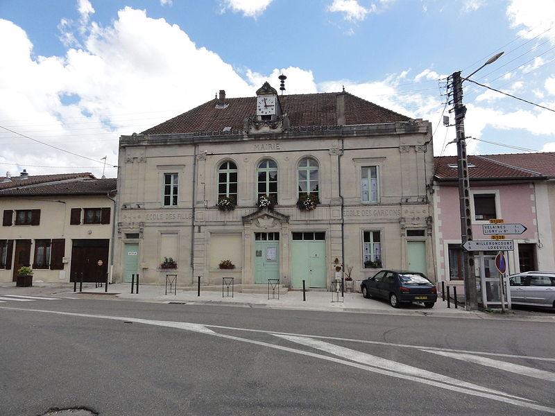 Nançois-sur-Ornain (Meuse) mairie