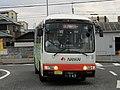 Nankai wing Bus Nanbu at Tarui Station.jpg