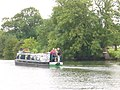 Narrowboat by Runsford Hole - geograph.org.uk - 915052.jpg