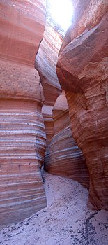 Narrows in Dianas Throne Canyon - DyeClan.com - panoramio (2).jpg