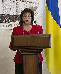 Natalie Jaresko in Kiev, 28 January 2015 (cropped).jpg