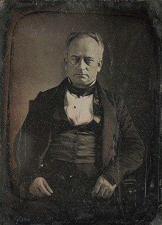 Nathaniel P. Tallmadge - Image: Nathaniel P. Tallmadge daguerreotype by Mathew Brady 1849