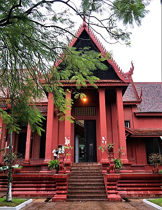 National Museum of Cambodia - Entrance of the National Museum