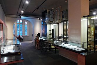 National Museum of Taiwan Literature - Exhibits inside the museum