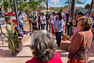 Navajo Nation Council - Image: Navajo Council Delegate Katherine Benally