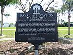 Naval Air Station Melbourne Historical Marker 2.jpg