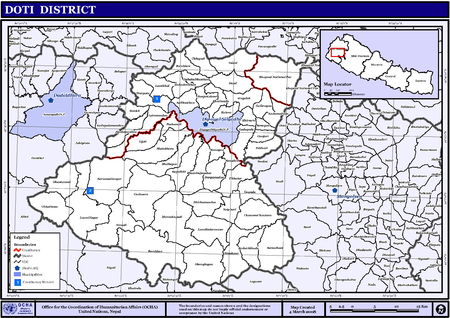 Map of the VDCs in Doti District NepalDotiDistrictmap.png