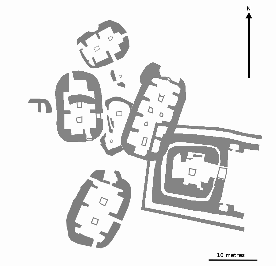 Ness of Brodgar - general plan
