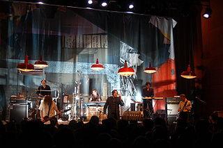 Einstürzende Neubauten German industrial band