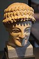 Neues Museum - Kopf einer männlichen Statue2.jpg